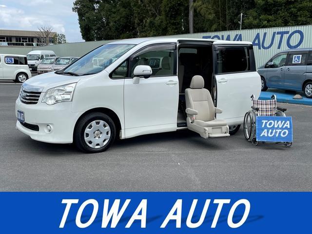 トヨタ ノア X Lセレクション サイドリフトアップシート装着車 リモコン付 片側電動スライドドア ETC