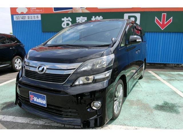 トヨタ 2.4Z ゴールデンアイズII メーカーナビ 両側電動