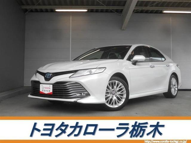 トヨタ カムリ Gレザーパッケージ メモリーナビ・フルセグ・LED・ETC