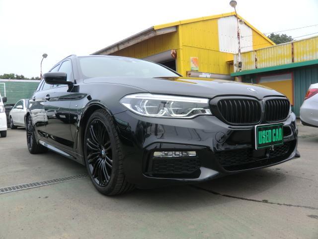 BMW 523dツーリングエディションミションインポッシブル