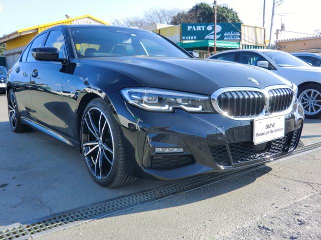BMW 320i Mスポーツ デビュー コンフォートパッケージ レザーシート サンルーフ インテリジェントセーフティ G19インチ パーキングアシスト 後退アシスト オートトランク ハイビームアシスタンス