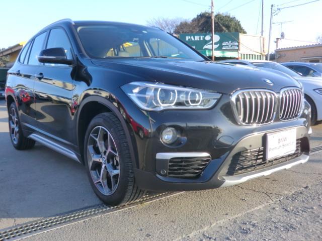 BMW X1 xDrive 18d xライン インテリジェントセーフティ 衝突 歩行者 車線逸脱警告 パーキングアシスト オートトランク PDC