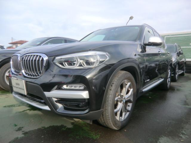 BMW X3 xDrive 20d Xライン ワンオーナー インテリジェントセーフティ歩行者 衝突 車線逸脱 車線変更 側面衝突警告 パーキングアシスト レザーシート オートトランク