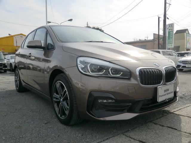BMW 218dアクティブツアラー スポーツ スポーツライン インテリジェントセーフティ 衝突 歩行者 車線逸脱警告 オートトランク ヘッドUPディスプレイ コンフォートアクセス