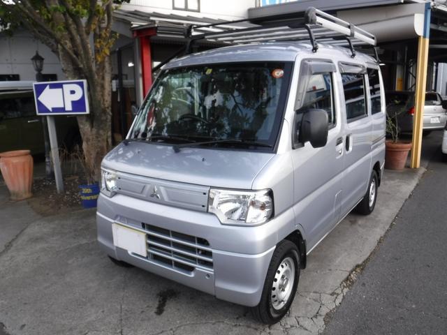 三菱 ミニキャブバン CD メモリーナビ TV キーレス ルーフキャリア AC パワステ 両側スライドドア CD 運転席助手席エアバッグ