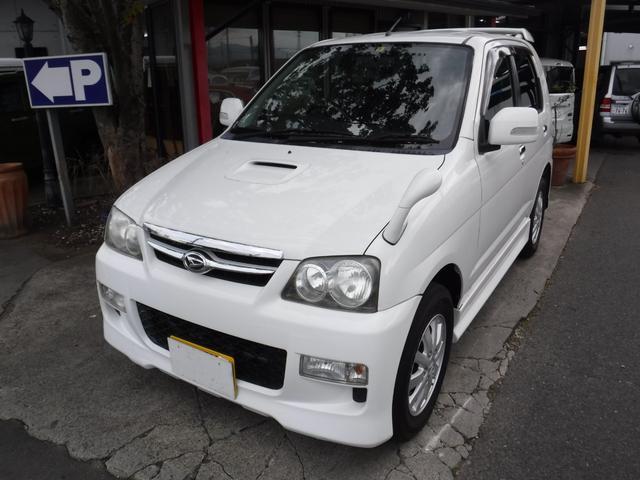 ダイハツ テリオスキッド カスタムX 4WD ターボ エアロ ABS