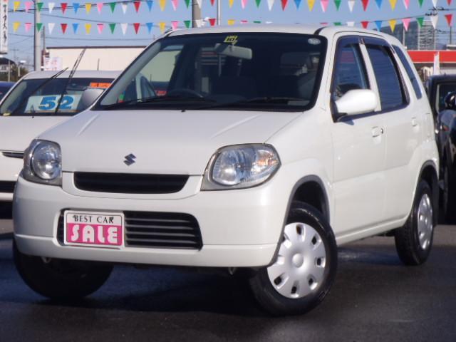 スズキ A CDキーレス付 新品タイヤ 新品マット 保証1年付