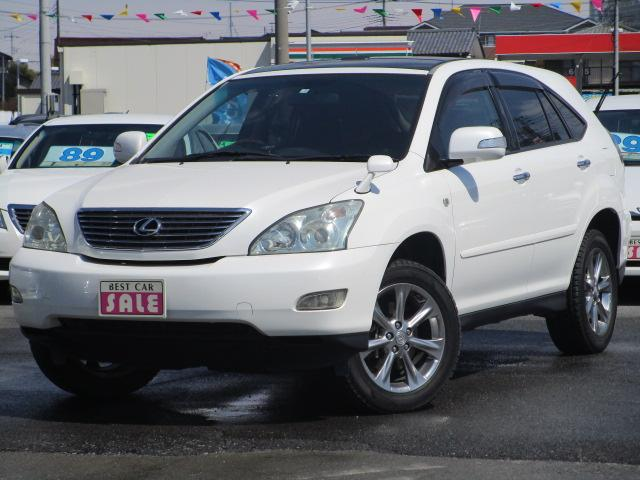 トヨタ AIRS 黒革シート HDDナビワンセグ付 保証1年付