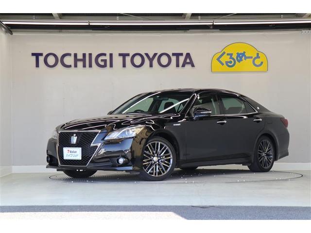 トヨタ アスリートS ブラックスタイル 18インチAW メーカーナビ