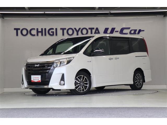 トヨタ ノア Si ダブルバイビー 後席モニター 純正10.5型ナビ