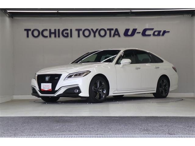 トヨタ RS リミテッド /試乗車 メーカーナビ バックモニター フルセグ 衝突被害軽減ブレーキ ETC LEDライト 純正18インチアルミ