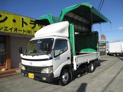 ダイナトラック3t セミロング 幌ウイング オートマ車