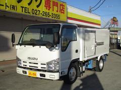 エルフトラック1.5t フルフラットロー 冷蔵冷凍 4WD AT車