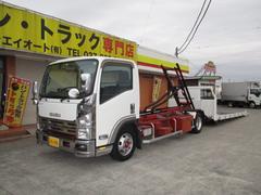 エルフトラック2.6t セフティーローダー フラトップ ラジコン付 AT車