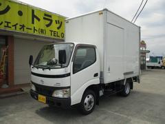 ダイナトラック2tアルミバン 垂直パワーゲート 4WD