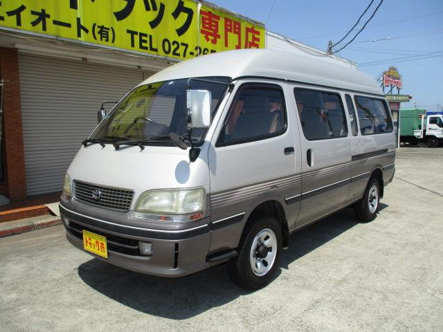 トヨタ グランドキャビンG-e 10人乗り 4WD