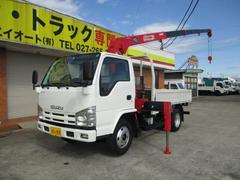 エルフトラック3t 4段クレーン ラジコン付
