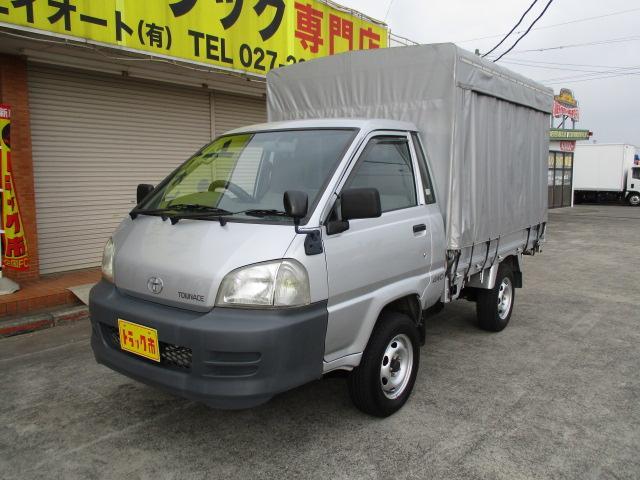 トヨタ 0.75t シングルジャストロー カーテン幌 4WD