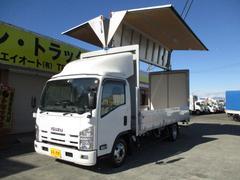 エルフトラック2t ワイド 超ロング アルミウイング オートマ車