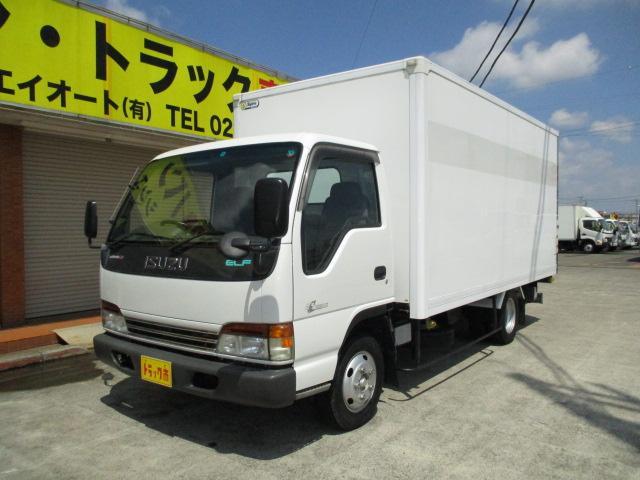 いすゞ エルフトラック 2t ロング 保冷車 マルチゲート バックカメラ