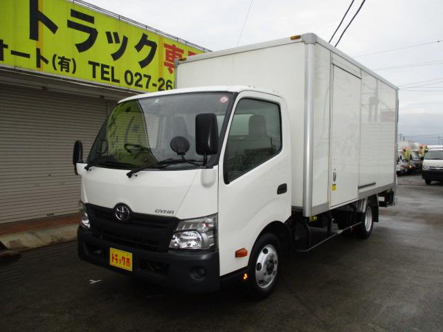 トヨタ ダイナトラック 3t ワイド ロング アルミバン 垂直パワーゲート