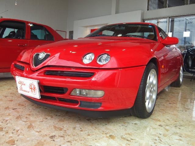 アルファロメオ 3.0 V6 24V 社外マフラー 17インチAW レザー