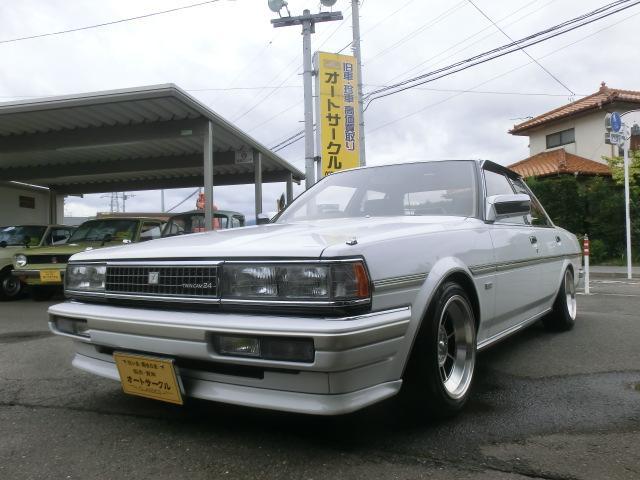 トヨタ スーパールーセント エクシード ツインカム24 5速 車高調