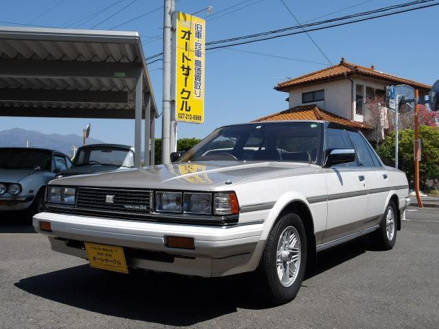 トヨタ クレスタ スーパールーセント ツインカム24 GX71前期ノーマル車  ETC 純正AW TEMS ECT