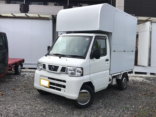 日産 DX エアコン エアバック オートマ車 移動販売車