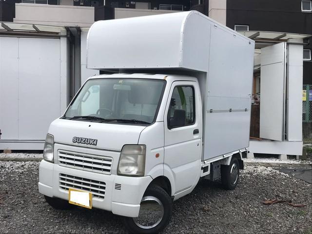 スズキ キャリイトラック KCエアコン・パワステ AT 軽トラック 移動販売車