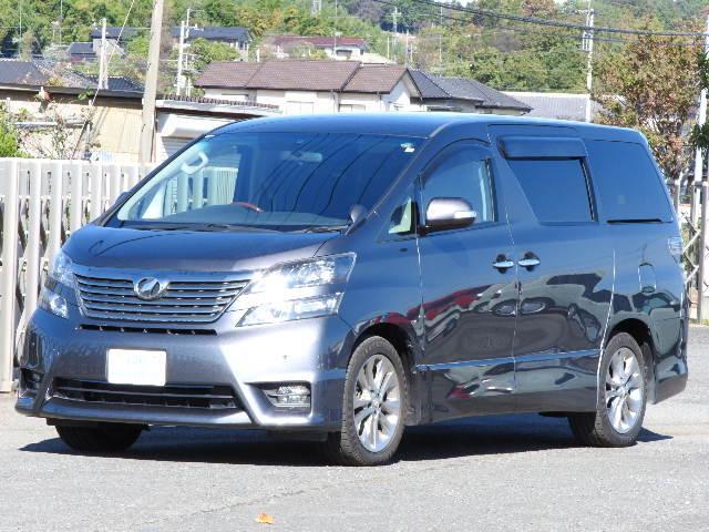 トヨタ 2.4Z プラチナセレクションII 地デジナビ 両側自動ドア