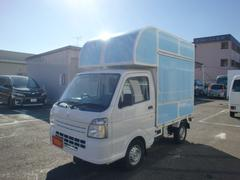 キャリイトラックKC 移動販売車 キッチンカー ケータリング ナビ ETC