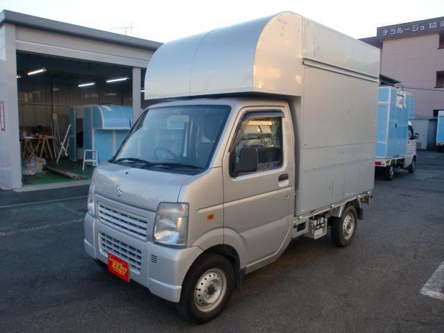スズキ KC 移動販売車 ケータリングキッチンカー オートマ車