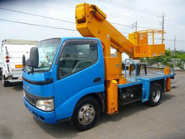 日野 高所作業車タダノAT121-TG 作業床高さ12m