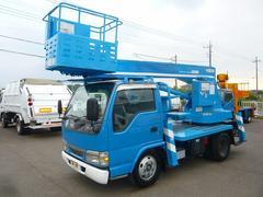 エルフトラック高所作業車アイチSS12A 作業床高さ11.9m