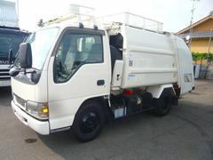 エルフトラックパッカー車4.2立米プレス式新明和