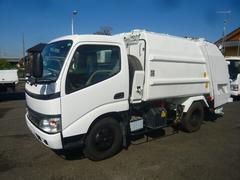 ダイナトラックパッカー車4.2立米プレス式新明和