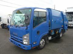 エルフトラックパッカー車4.1立米プレス式モリタエコノス