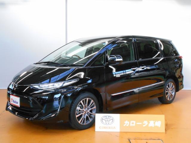 トヨタ アエラス プレミアム-G トヨタSS-C 4WD SDナビ
