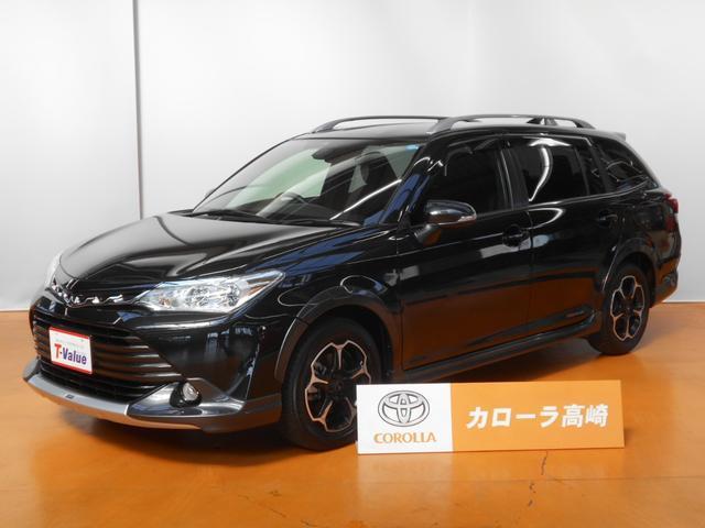 トヨタ 1.5G クロスフィールダー フルエアロ SDナビ フTV