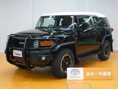 FJクルーザーブラックカラーパッケージ 4WD SDナビ フTV バックM