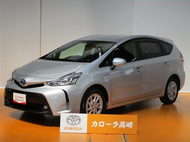 トヨタ プリウスアルファ G SDナビ フTV バックM ETC LEDライト