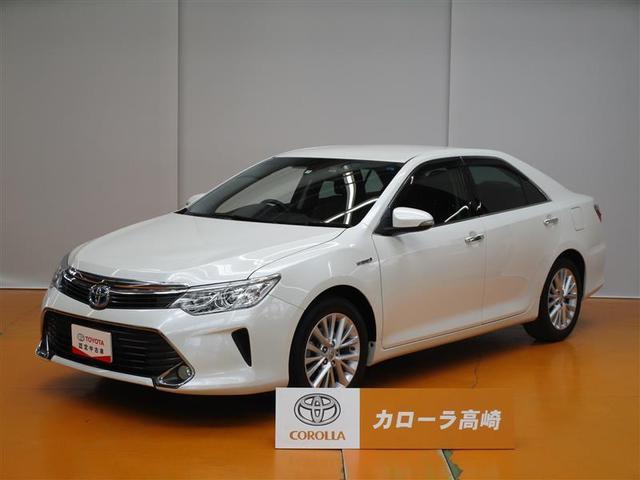 トヨタ カムリ ハイブリッド Gパッケージ Tコネクトナビ TV 電動シート