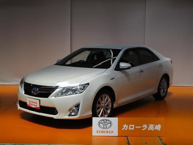トヨタ カムリ ハイブリッド Gパッケージ SDナビ フTV 電動シート