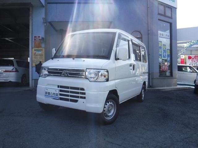 三菱 CLハイルーフ 4WD CD付 タイヤ4本新品交換