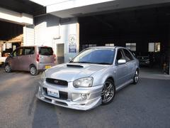 インプレッサスポーツワゴンWRX フジツボマフラー 車高調 5速MT