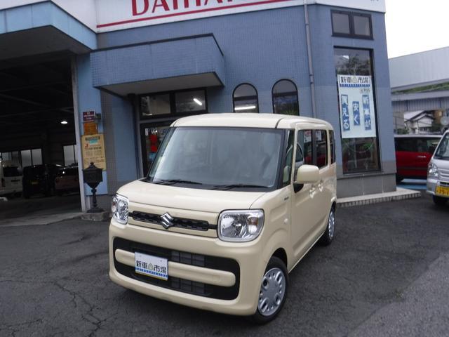 スズキ ハイブリッドG ワイド地デジナビ付届出済み未使用車 新車保証