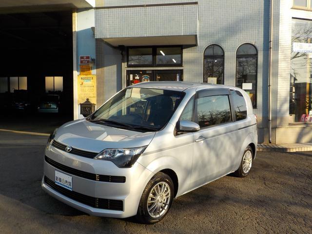 トヨタ スペイド G 純正Bluetooth地デジナビ付 バックガイドモニター ETC アルミホイール シートヒーター オートスライドドア 保証付