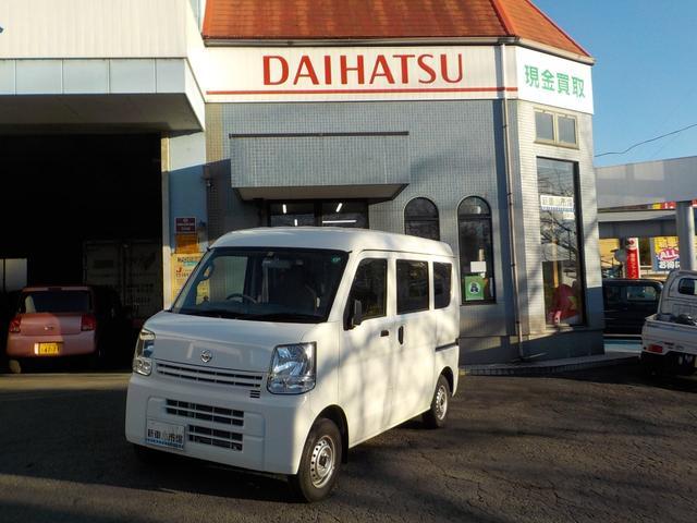 日産 DX 純正Bluetoothフルセグ地デジナビ付 ハンズフリー バックモニター キーレス フロアマット付 ワンオーナー車