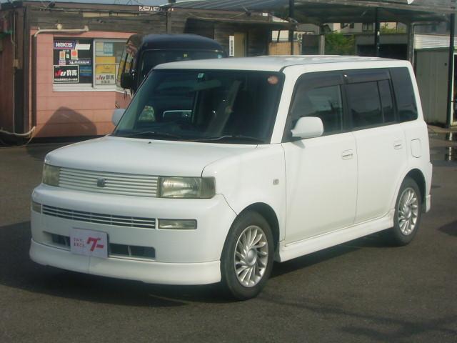 トヨタ bB Z Xバージョン ベンチシート キーレス 純正アルミ